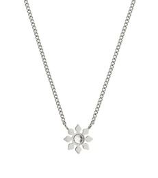 Snowflake Necklace - Steel