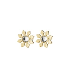Snowflake Studs - Gold