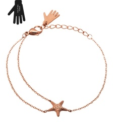 Starfish Bracelet - Rose Gold