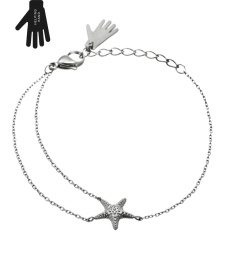 Starfish Bracelet - Steel