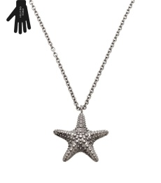 Starfish Necklace - Steel