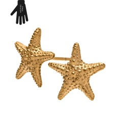 Starfish Studs - Gold