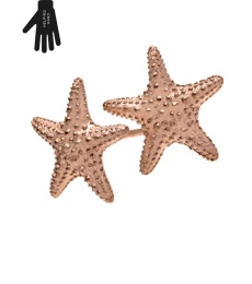 Starfish Studs - Rose Gold