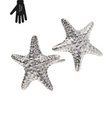 Starfish Studs - Steel