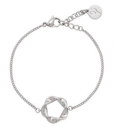 Swirl Bracelet - Steel