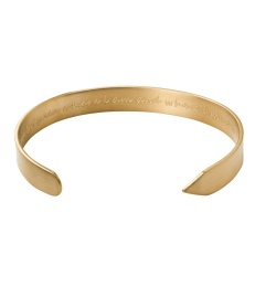 Thought Bangle - Matt Gold