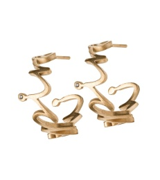 Thought Earrings - Matt Gold