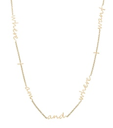 Thought Necklace - Matt Gold