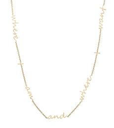 Thought Necklace - Matt Gold
