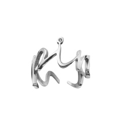 Thought Ring Onesize - Steel