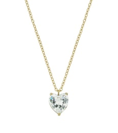 Timeless Heart Necklace - Gold