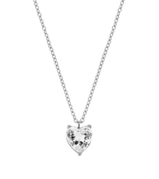 Timeless Heart Necklace - Steel