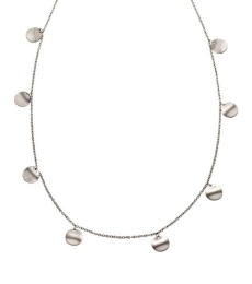 Concave Necklace Multi - Matt Steel