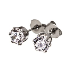 Crown Studs - Steel