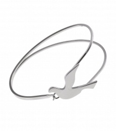 Dove Bangle - Steel
