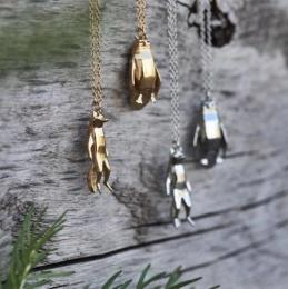 Fauna Necklace Fox - Gold