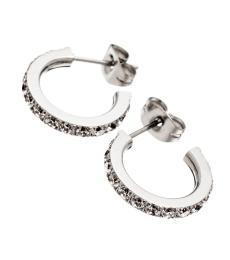 Glow earrings mini - Steel