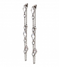 Ilona Earrings - Steel