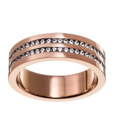Josefin Ring Double - Rosé