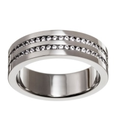 Josefin Ring Double - Steel