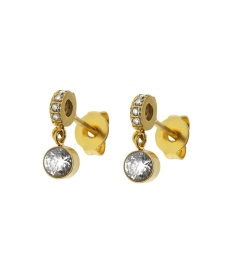 June Earrings Small - Gold