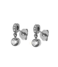 June Earrings Small - Steel