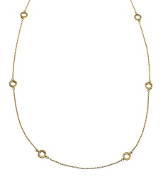 Monaco Necklace Multi Mini - Gold