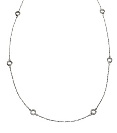 Monaco Necklace Multi Mini - Steel