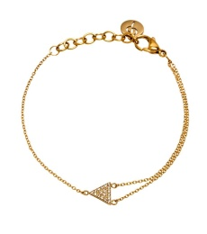 Mountain Bracelet - Gold