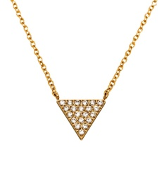 Mountain Necklace Short - Gold