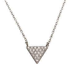 Mountain Necklace Short - Steel