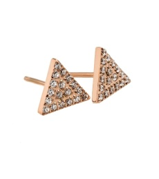 Mountain Studs - Rose Gold