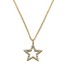 Nova cz Necklace - Gold