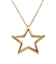 Nova Necklace Long - Gold