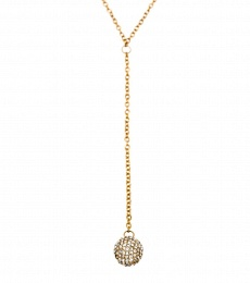 Snowball Necklace - Gold
