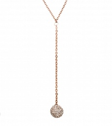 Snowball Necklace - Rose Gold