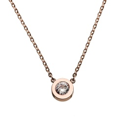Stella Necklace - Rose Gold