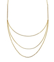 Tide Necklace - Matt Gold