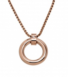 Turner Necklace - Rose Gold