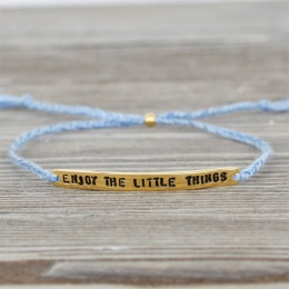 Enjoy the little things Gold/Blue