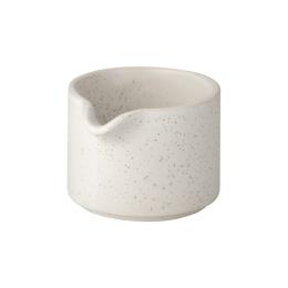 Mjölkkanna - Vit/Prickig