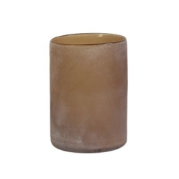 Frost Candleholder L - Brown