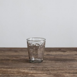 Galette Drinking Glass - Clear