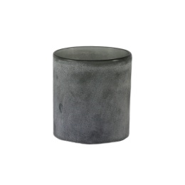Frost Candleholder M - Grey