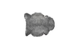 Hemse Fårskinn - Ljusgrå