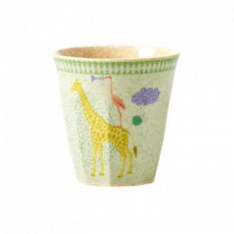 Mugg giraff - Blå/Grön