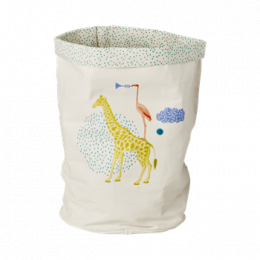 Förvaringskorg i tyg - Giraff