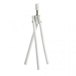 Lampfot Bambu - Vit