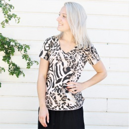 Ana - Rosa Leopard