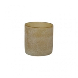 Frost Candleholder S - Amber